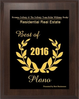Plano 2016 Award for Excellence in Real Estate